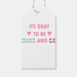 Etiqueta Para Presente É aprovado ser o transporte e o gay (v4)
