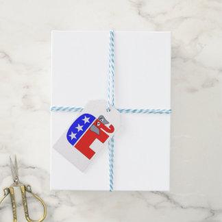 Etiqueta Para Presente Elefante do GOP