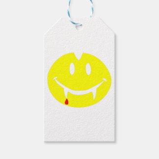 Etiqueta Para Presente emoji dracula do vampiro