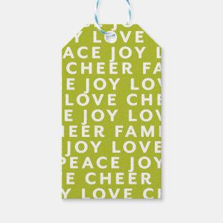 Etiqueta Para Presente Envoltório do Tag do presente do Natal da