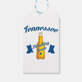 Etiqueta Para Presente Equipe do bebendo de Tennessee