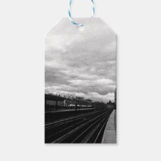 Etiqueta Para Presente Estação de caminhos-de-ferro