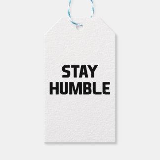 Etiqueta Para Presente Estada humilde