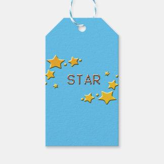 Etiqueta Para Presente estrelas