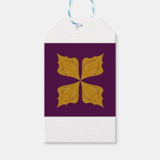 Etiqueta Para Presente Ethno do vinho do ouro da mandala do design