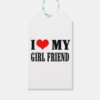 Etiqueta Para Presente eu amo minha namorada