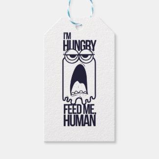 Etiqueta Para Presente eu estou com fome alimento-me humano