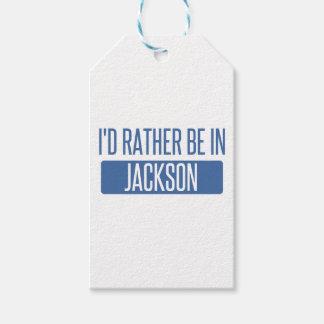 Etiqueta Para Presente Eu preferencialmente estaria em Jackson TN