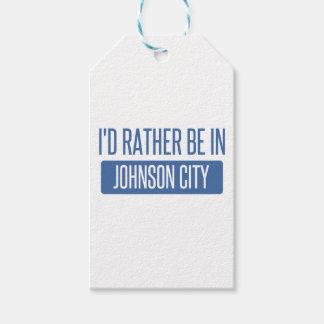 Etiqueta Para Presente Eu preferencialmente estaria em Johnson City