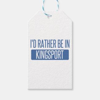 Etiqueta Para Presente Eu preferencialmente estaria em Kingsport
