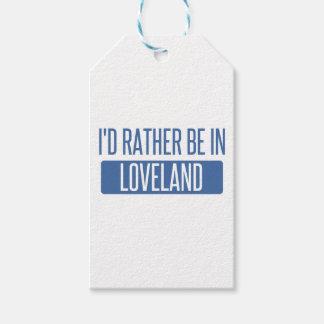 Etiqueta Para Presente Eu preferencialmente estaria em Loveland