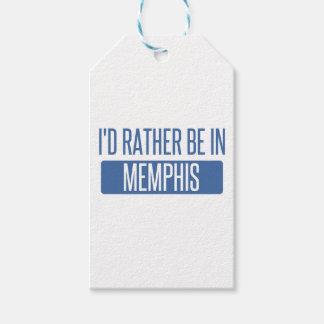 Etiqueta Para Presente Eu preferencialmente estaria em Memphis