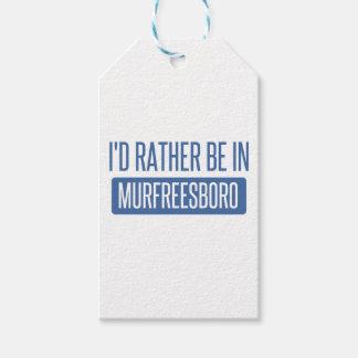 Etiqueta Para Presente Eu preferencialmente estaria em Murfreesboro