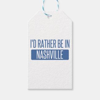 Etiqueta Para Presente Eu preferencialmente estaria em Nashville