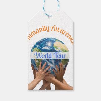 Etiqueta Para Presente Excursão do mundo