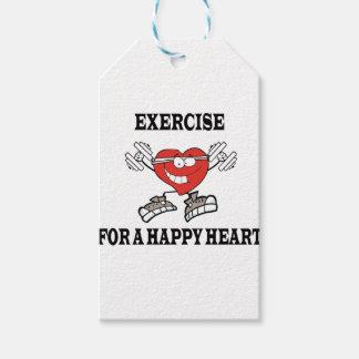 Etiqueta Para Presente exercício heart2