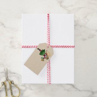 Etiqueta Para Presente Fada mágica de Bell de Natal