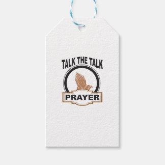 Etiqueta Para Presente fale a oração da conversa yeah