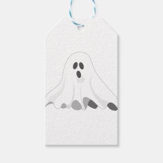 Etiqueta Para Presente Fantasma do Dia das Bruxas - VAIA!