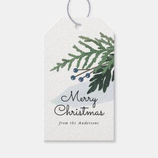 Etiqueta Para Presente Feriado bonito - Tag do presente do Natal