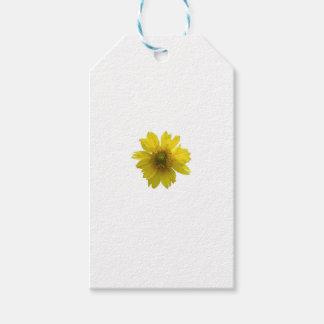 Etiqueta Para Presente Flor amarela