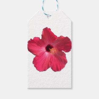 Etiqueta Para Presente Flor cor-de-rosa 201711e do hibiscus