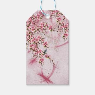 Etiqueta Para Presente Flor de cerejeira