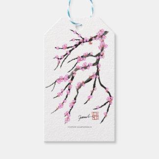 Etiqueta Para Presente Flor de cerejeira vermelha 32, Tony Fernandes