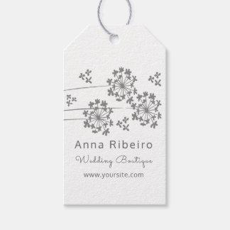 Etiqueta Para Presente Flor do primavera - boutique moderno minimalista