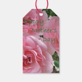 Etiqueta Para Presente Flores felizes do dia das mães