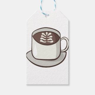 Etiqueta Para Presente Flourish do café