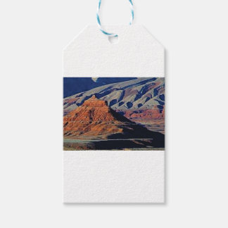 Etiqueta Para Presente formas naturais do deserto