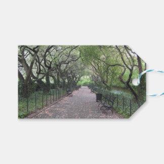 Etiqueta Para Presente Fotografia conservadora do Central Park NYC do