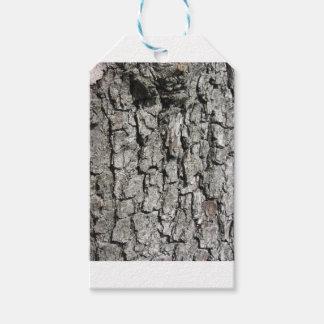 Etiqueta Para Presente Fundo da textura do latido de árvore da pera