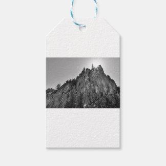 Etiqueta Para Presente Garganta de Boulder do pináculo dos estreitos