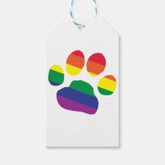 Etiqueta Para Presente Gay-Orgulho-Pata-Impressão