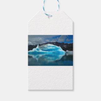 Etiqueta Para Presente Gelo abstrato Alaska das montanhas da neve do