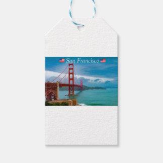 Etiqueta Para Presente Golden gate bridge San Francisco