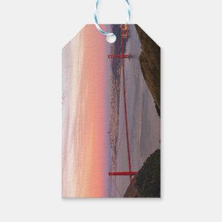 Etiqueta Para Presente Golden gate bridge San Francisco no nascer do sol