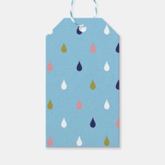 Etiqueta Para Presente Gotas felizes da chuva