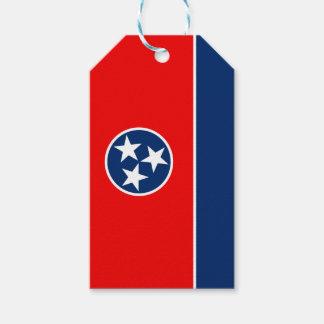 Etiqueta Para Presente Gráfico dinâmico da bandeira do estado de
