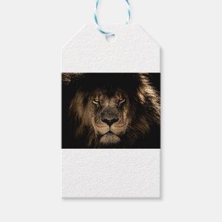 Etiqueta Para Presente Grande leão