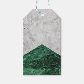 Etiqueta Para Presente Granito concreto #412 do verde da seta