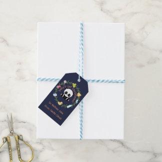 Etiqueta Para Presente Grinalda da panda do Natal do bebê primeira