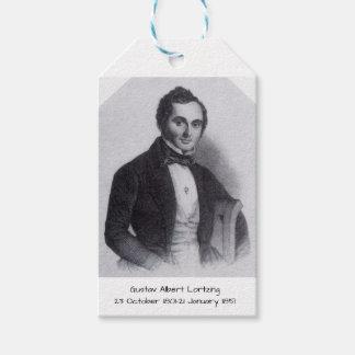 Etiqueta Para Presente Gustavo Albert Lortzing