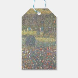 Etiqueta Para Presente Gustavo Klimt - casa de campo pela arte de
