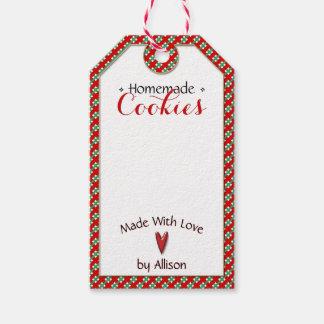 Etiqueta Para Presente Handmade & caseiro • Artesanatos dos biscoitos | •