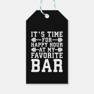 Etiqueta Para Presente Happy hour em meu bar favorito - Gym inspirado