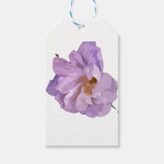 Etiqueta Para Presente hibiscus
