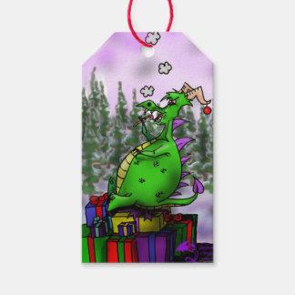 Etiqueta Para Presente Hoard mágico do Natal do feriado da fantasia do